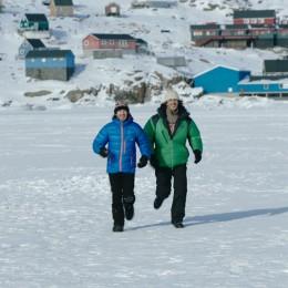 Au micro :<br>Le voyage<br>au Groenland